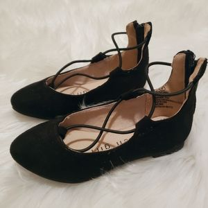 Madden Girl Faux Suede Flats